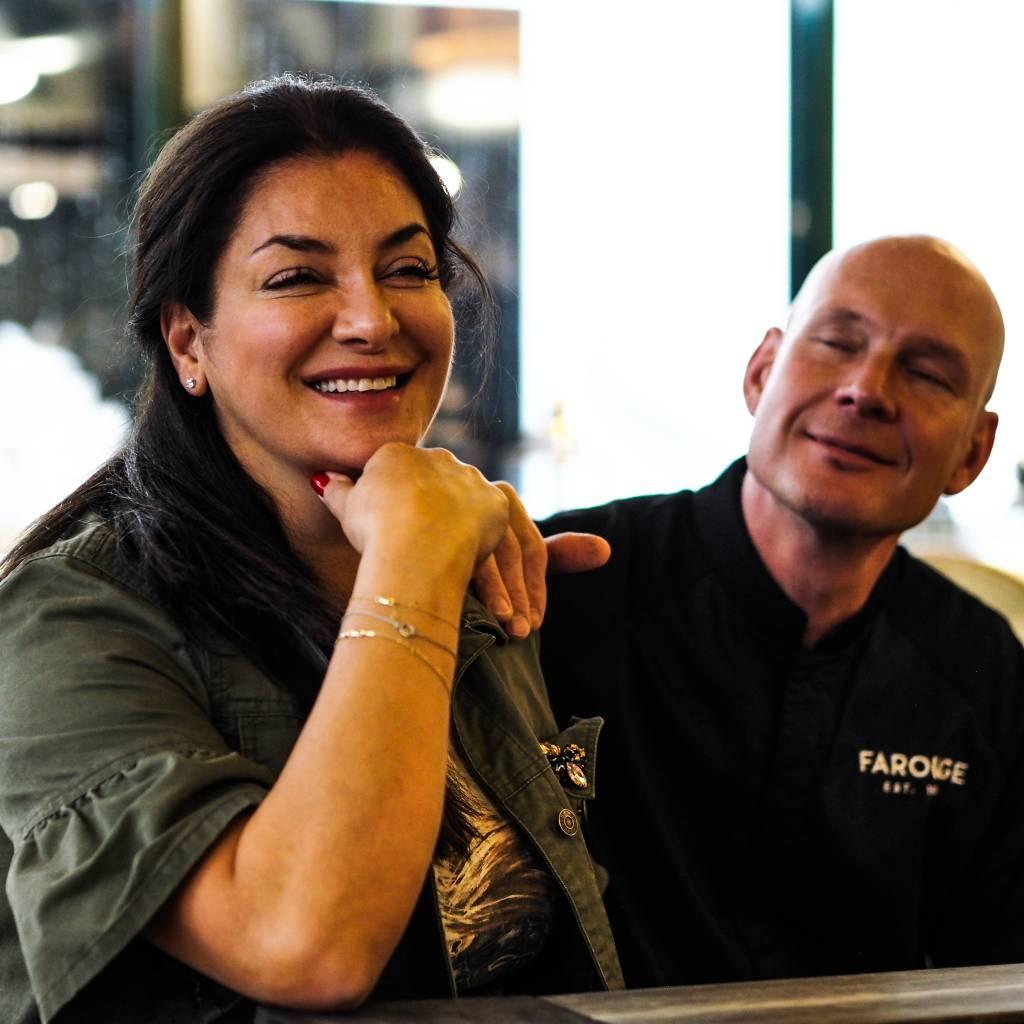 Libanonilainen ravintola Farouge - Vivianne Kallio ja Aki Kallio